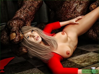 Long haired blondie wants a monster dick in - Cartoon Sex - Picture 2
