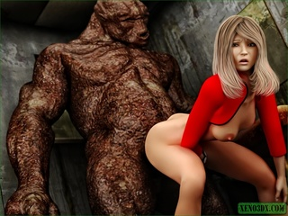 Long haired blondie wants a monster dick in - Cartoon Sex - Picture 3
