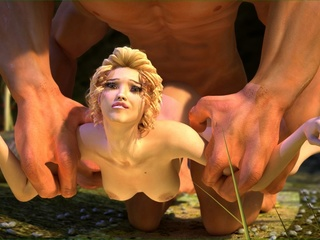 Giant devilish creature fucking a small - Cartoon Sex - Picture 3