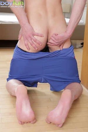 Jack Finix pulls on his uncut cock and fingers himself deep in the ass - XXXonXXX - Pic 5