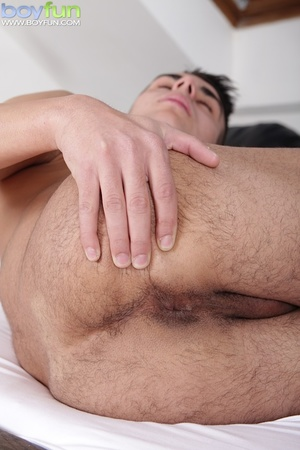 Sexy uncut Latino offers up his tight ass for a deep fuck - XXXonXXX - Pic 9