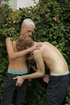 Gay couple love to ravish their asses and mouths outdoors for excitement
