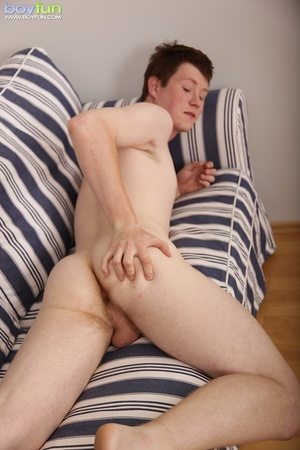 Pale gay with hairy chest flashes his sweet yummy crap hole - XXXonXXX - Pic 13