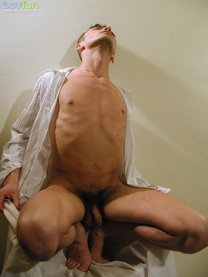 Small fry in hot underwear flashes his delicious penis and hot buttocks - XXXonXXX - Pic 12