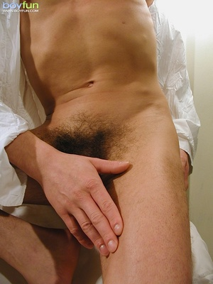 Small fry in hot underwear flashes his delicious penis and hot buttocks - XXXonXXX - Pic 15