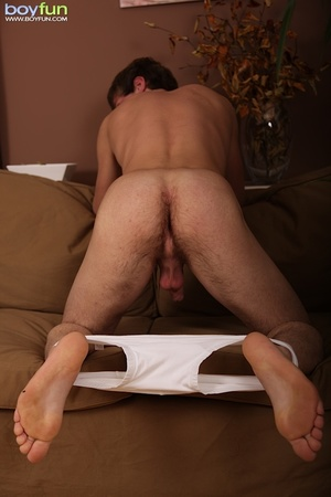 Love the hairy buttocks of this cute idiot and penetrate him hard - XXXonXXX - Pic 11
