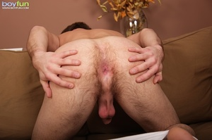 Love the hairy buttocks of this cute idiot and penetrate him hard - XXXonXXX - Pic 12