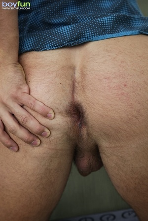 Thid handsome dude had to jerk off his shapely dick in his most perverted place - XXXonXXX - Pic 12