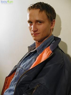 He sacrificed the orange juice for a good masturbation session - XXXonXXX - Pic 1