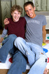 Skinny gay couple give blowjobs and have wild…
