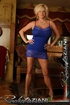Blonde slut in a blue dress is ready for some…