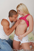 Innocent blonde has her tight hole fucked and…