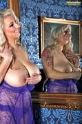 big tits, blonde, individual model, mirror
