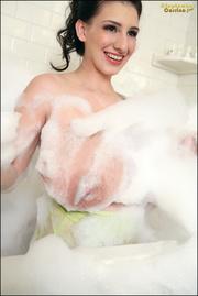 steamy sensual bubble bath