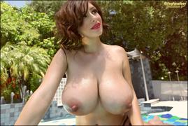 big tits, individual model, tits, wet