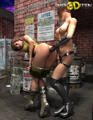 bionic woman tits threesome