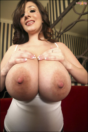 lady with big areolas