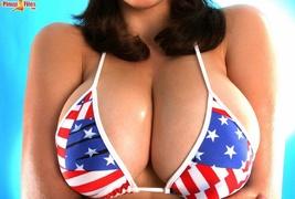 big tits, bikini, huge tits, tits