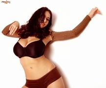 big tits, brunette, tits, underwear