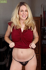 sweet and busty milf