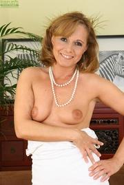 elegant blonde housewife gets