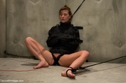 chains and straitjacket subdue