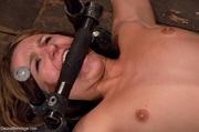 closeup shots show slave's