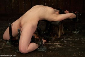 Biddable bitch does a backbend while Mas - XXX Dessert - Picture 3