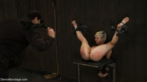 During a BDSM session, slaves are caged  - XXX Dessert - Picture 13