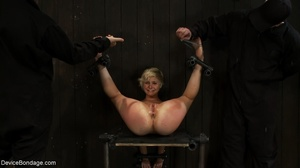During a BDSM session, slaves are caged  - XXX Dessert - Picture 16