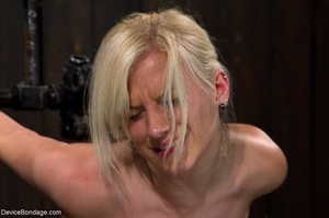 Wax play, breast crushing and involuntar - XXX Dessert - Picture 16