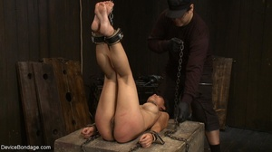 Alluring Asian winces in pain as she end - XXX Dessert - Picture 7