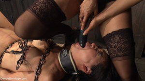 Alluring Asian winces in pain as she end - XXX Dessert - Picture 15