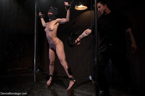 Woman's body is hung upside down and put - XXX Dessert - Picture 9