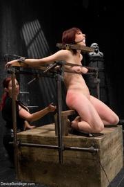 redheaded mistress treats her