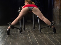 Red-lipped Mistress shoves fingers and an ass plug - XXXonXXX - Pic 2