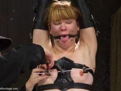 Red-lipped Mistress shoves fingers and an ass plug - XXXonXXX - Pic 10