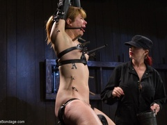 Red-lipped Mistress shoves fingers and an ass plug - XXXonXXX - Pic 11