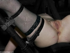 Black fishnets look mighty fine on this female - XXXonXXX - Pic 12