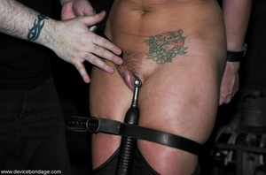 Brunette hates the way her Dom makes her acquiesce to such hardcore treatment. - XXXonXXX - Pic 13