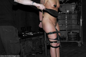 Brunette hates the way her Dom makes her acquiesce to such hardcore treatment. - XXXonXXX - Pic 14