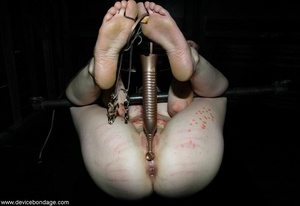Go ahead and gawk at this slutty submissive slave, as that is what this naughty girl deserves. - XXXonXXX - Pic 12