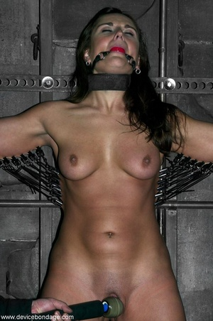 Beauty with model-like good looks takes a wild walk into the weird and wanton world of hardcore BDSM. - XXXonXXX - Pic 11