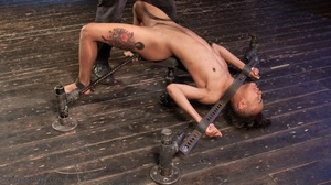 Finger-banging bedevils a black bombshell who is relatively new to the world of BDSM. - XXXonXXX - Pic 15