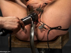 All-natural woman is bound in the most - XXXonXXX - Pic 9