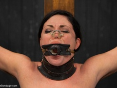 All-natural woman is bound in the most - XXXonXXX - Pic 11