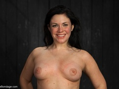 All-natural woman is bound in the most - XXXonXXX - Pic 18