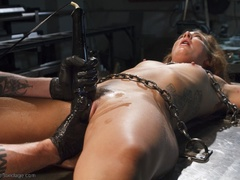 Foxy girl in heels does not stop her BDSM session, - XXXonXXX - Pic 10