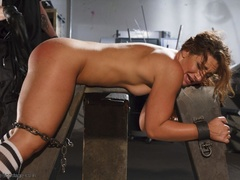 Foxy girl in heels does not stop her BDSM session, - XXXonXXX - Pic 13