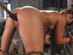 Foxy girl in heels does not stop her BDSM session, - XXXonXXX - Pic 15